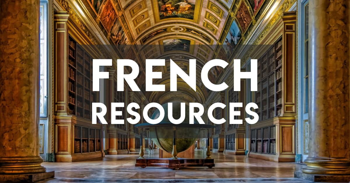 Resources for learning French from scratch