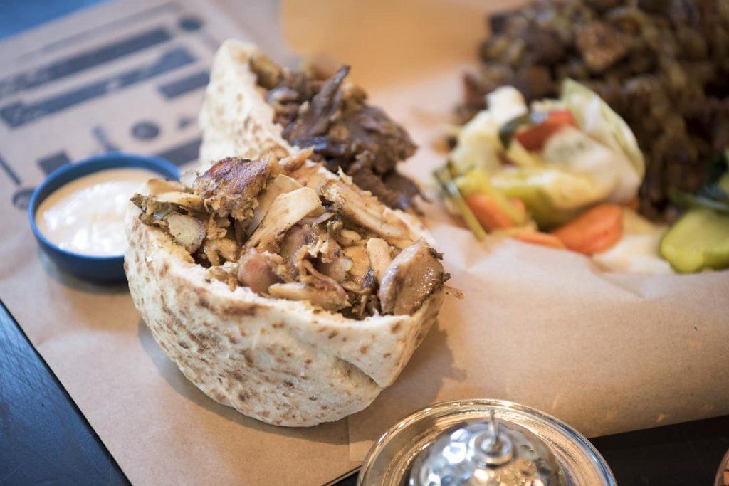 tel aviv street foods and snacks shawerma