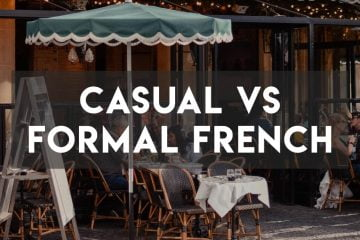 Casual vs Formal Professional French - Cover Image