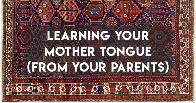 How to (Re-)Learn Your Mother Tongue