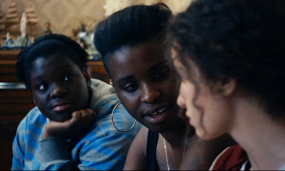 Screen grab from The Divines, a french film on Netflix