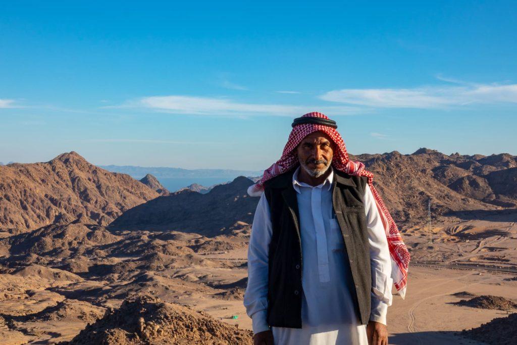 the Bedouin people of Sinai - Hasan in Egypt