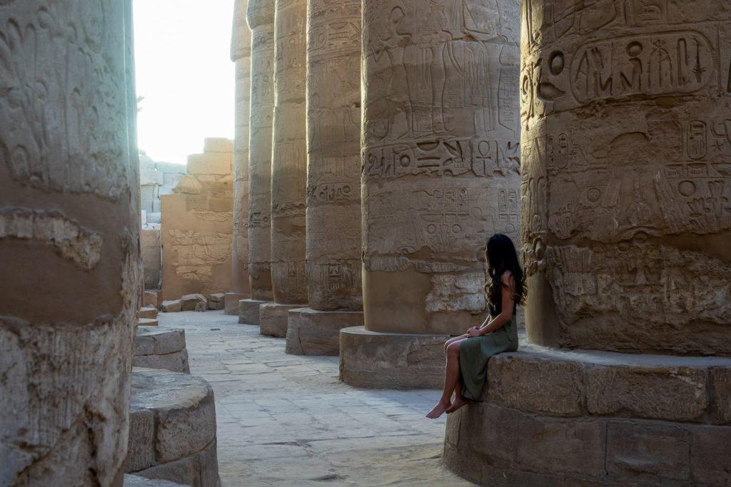 Sunrise in Luxor, Egypt