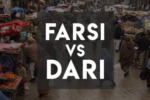 Farsi vs Dari - Similarities and Differences - Cover image