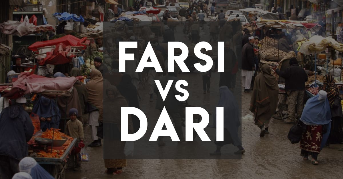 Farsi vs Dari - Similarities and Differences - Cover image