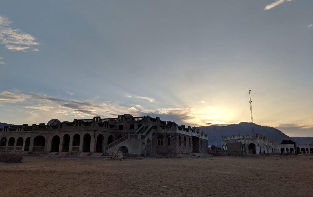 An empty development in the Siani Peninsula (near Dahab), abandoned since the Intifada