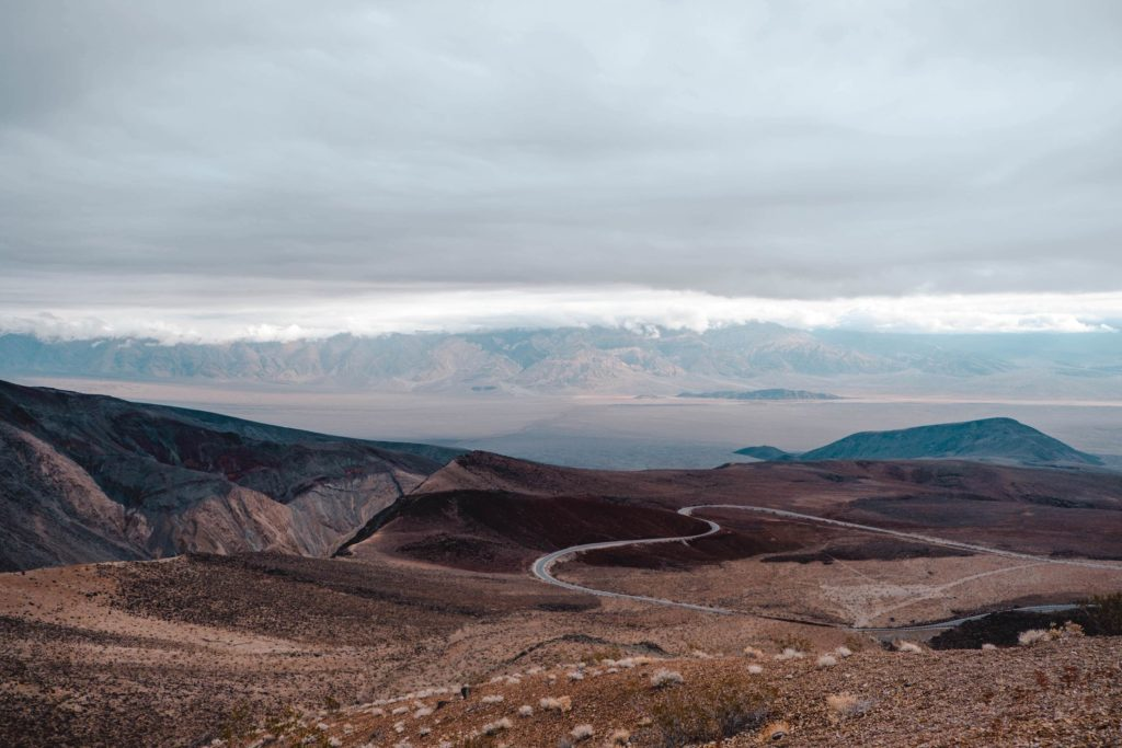 Father Crowley Overlook Death Valley Road — expansive view over Death Valley