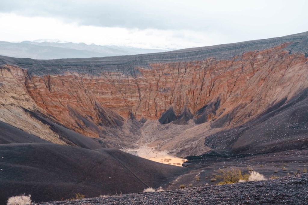Ubehebe Crater Volcano in Death Valley