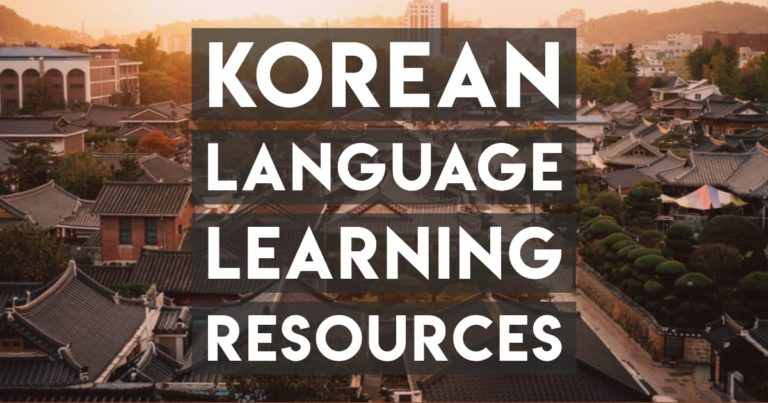 Learn Korean Online — The Only Resources You Need
