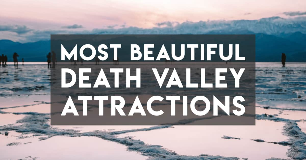 The most beautiful Death Valley Attractions - Cover image