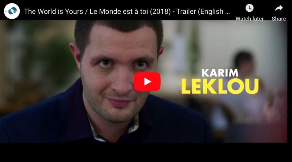 Screen capture from French netflix film Le Monde est a Toi, a comic caper