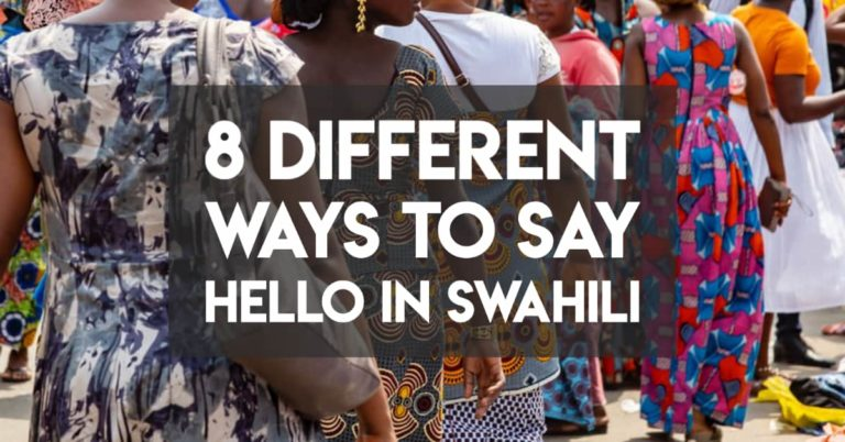 "Hello in Swahili — 8 Simple Greetings that aren't ""Jambo"""