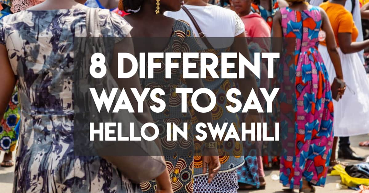 ways to say hello in swahili cover