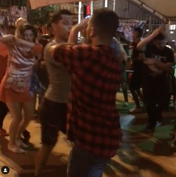 rincon de heberth, a salsa dance club in cali
