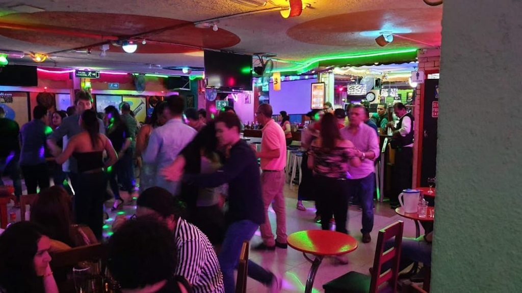 tintindeo salsa dance club interior in cali colombia