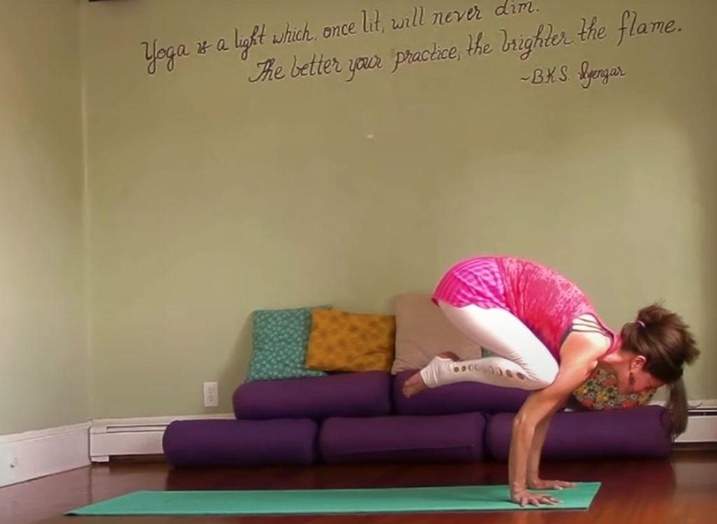 Leigha Butler, a growing teacher of yoga on YouTube