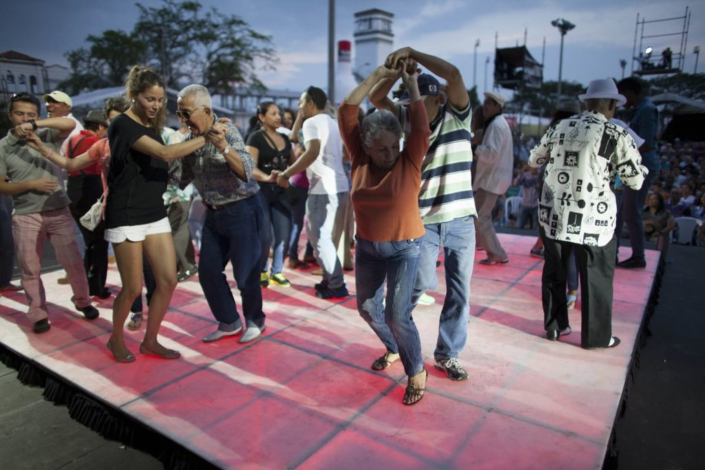 colombia is known for salsa dancing like this, in cali, colombia