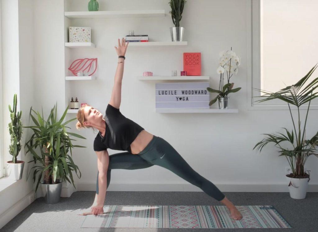Lucille Woodward Yoga on YouTube