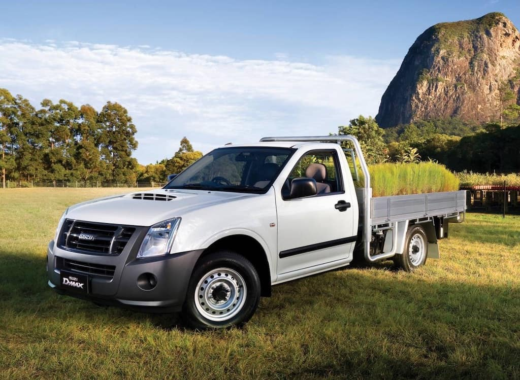2009 Isuzu D-Max (photo from Carsguide)