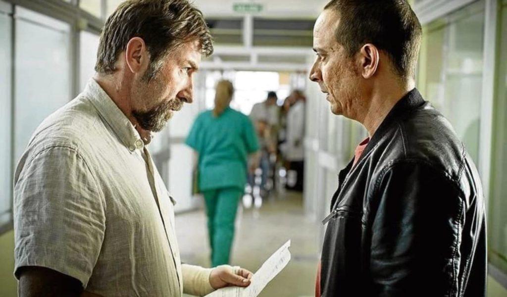 Tarde para la Ira (the fury of a patient man) spanish movie on netflix screen grab
