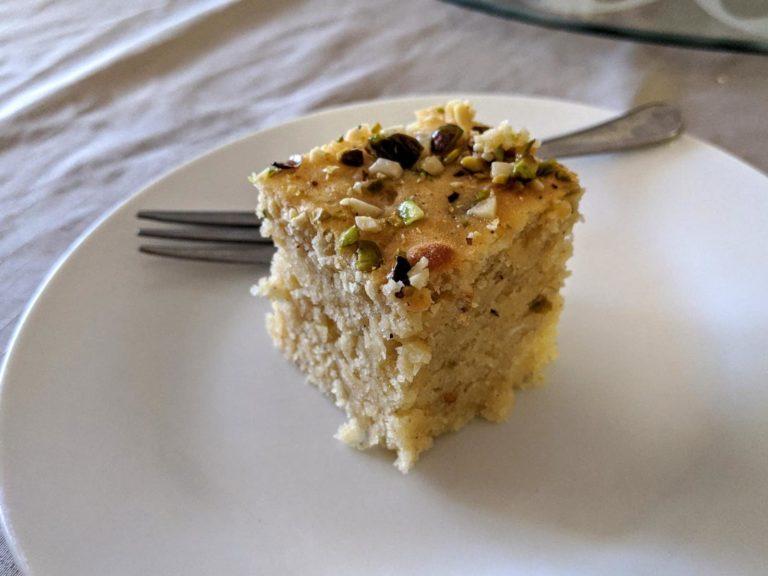 Cake Yazdi — Persian Yazdi Cakes