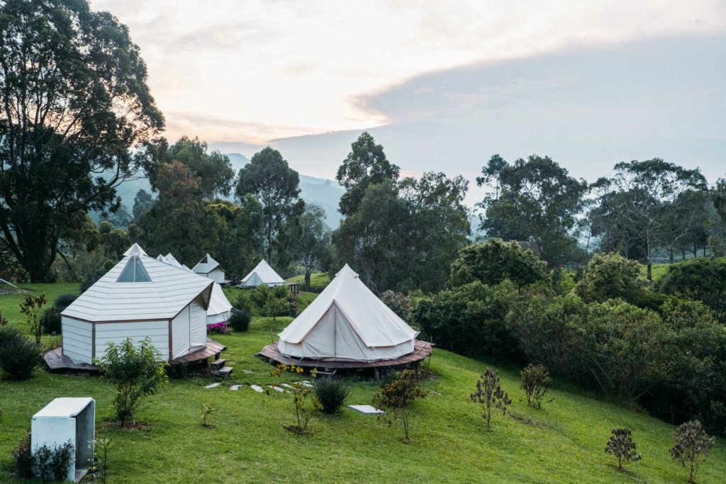 Glamping Lumbre Salento Accommodation tents nature