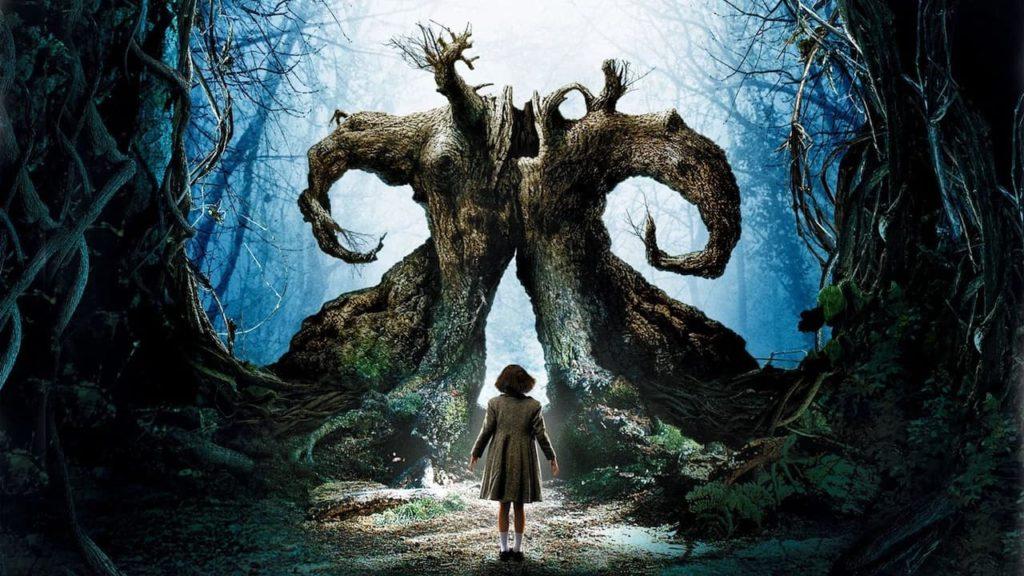 Screen grab from Pan's Labyrinth, an award-winning Spanish language movie