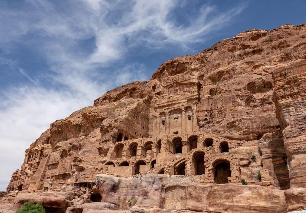 Petra, Jordan, where Levantine Arabic is spoken. Photo copyright Discover Discomfort 2019