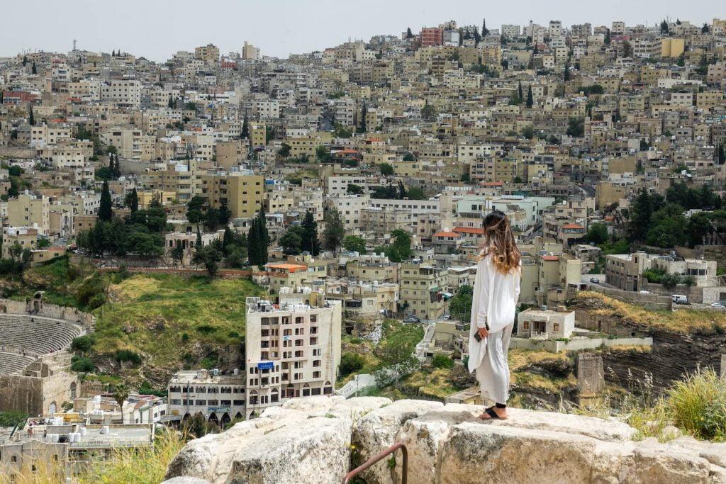 Amman, Jordan, where Levantine Arabic is spoken.