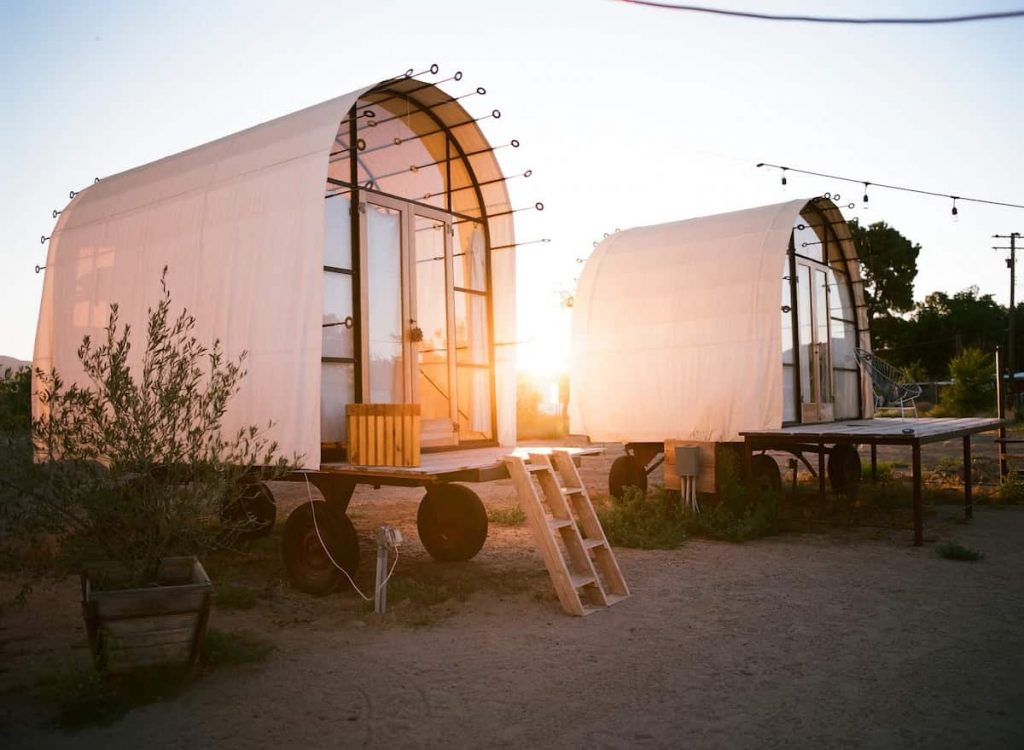 Lunette Hut Central Coast California Airbnb