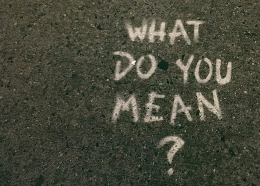 What in french artwork - what do you mean graffiti on pavement