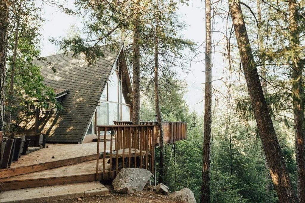 best airbnb in northern california shasta cabin