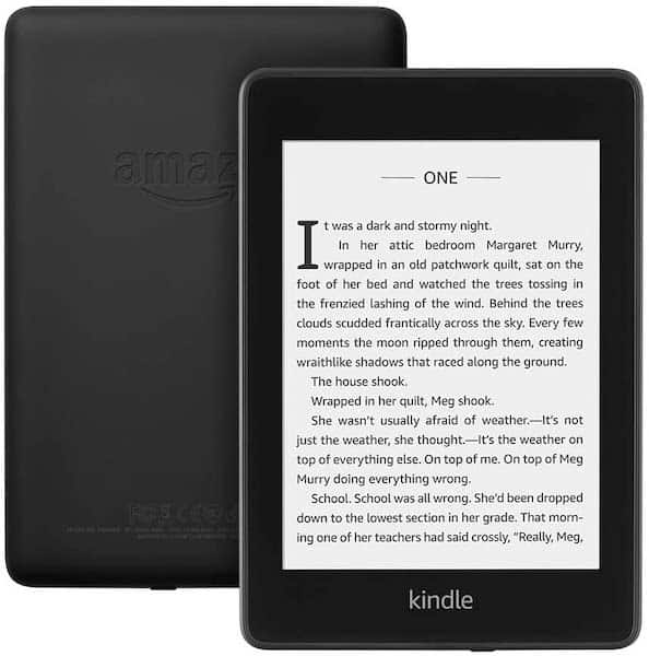 Kindle paperwhite gift idea travel gift