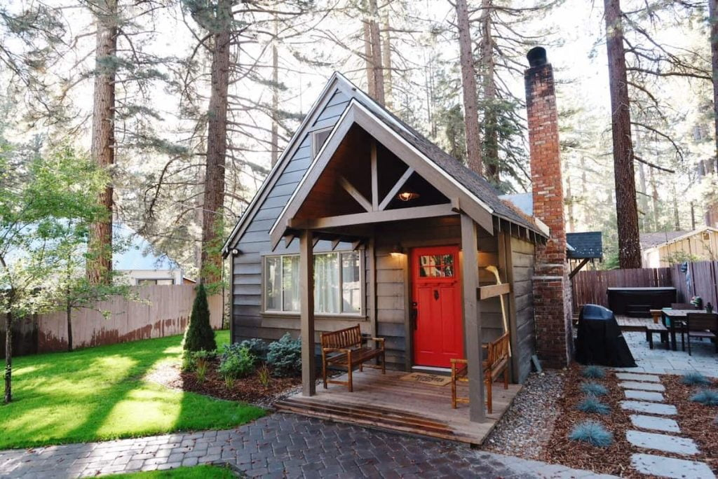 tahoe a-frame airbnb cabin