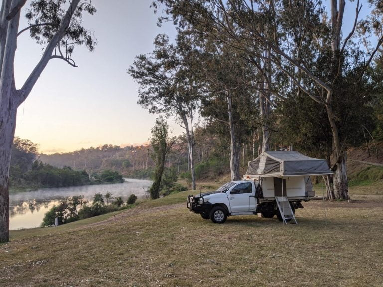 Our Toyota Hilux 4×4 + Trayon Camper For Sale