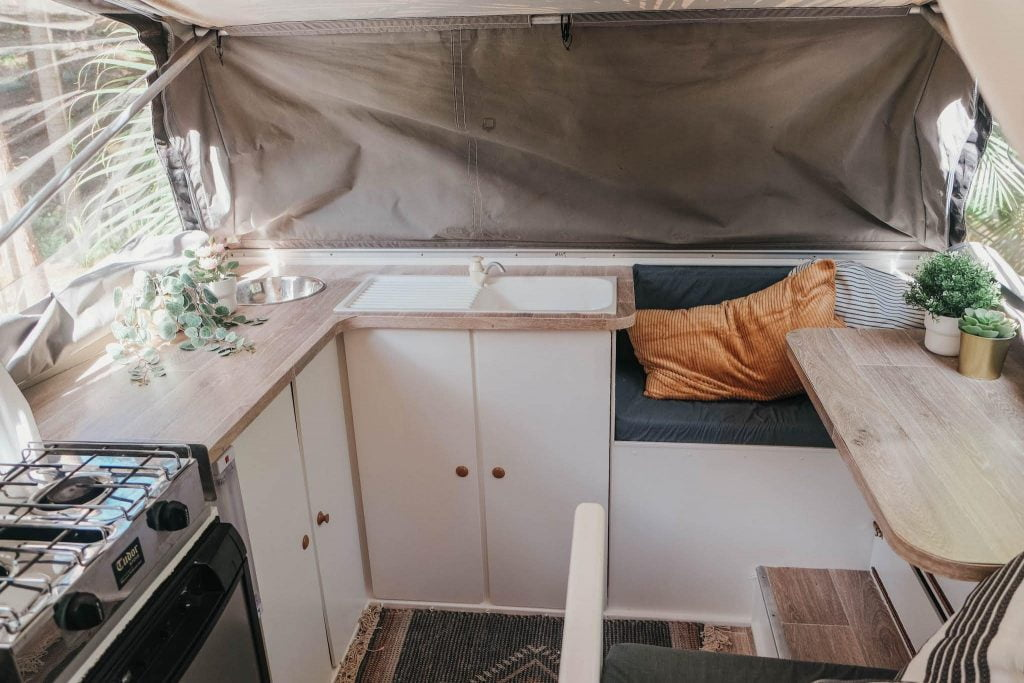 Toyota Hilux trayon 4x4 camper for sale interior 1
