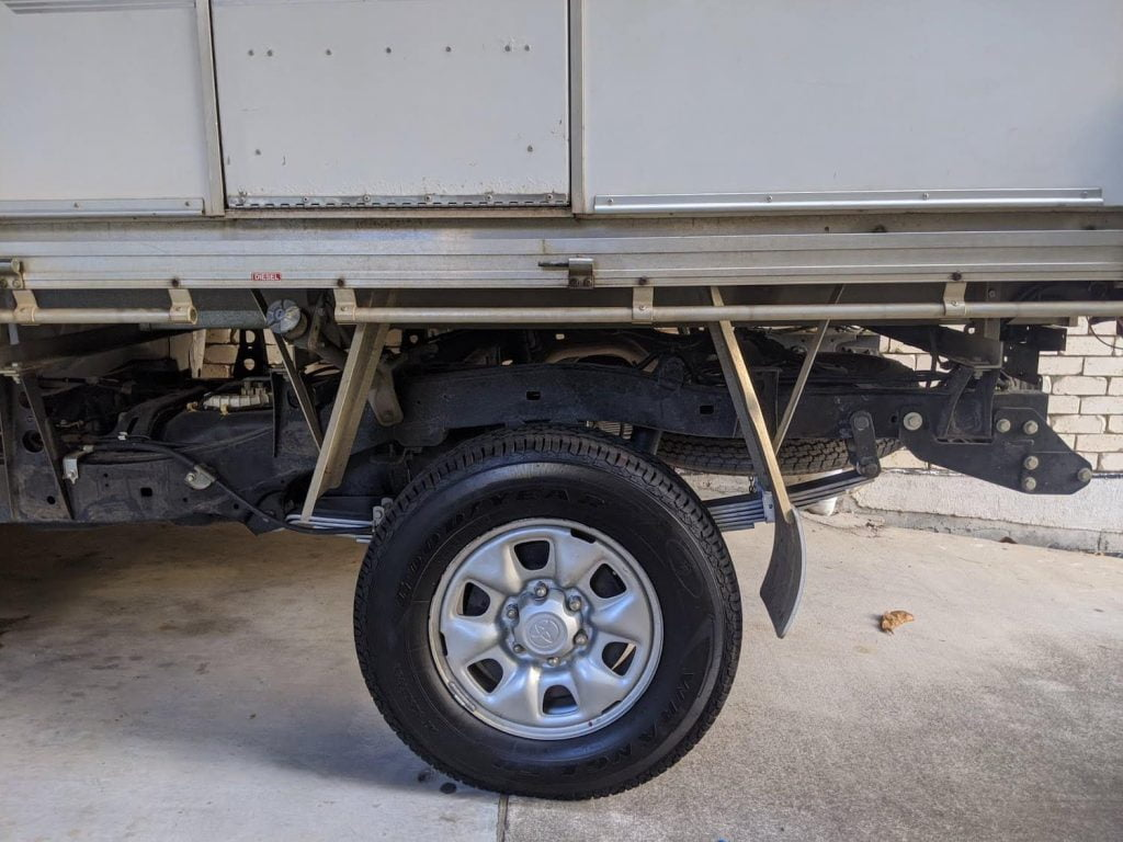 Toyota hilux camper offroad GVM upgrade - durashock suspension lift