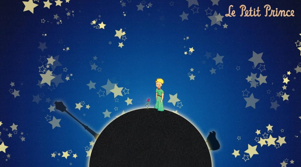 goodnight in french - the little prince