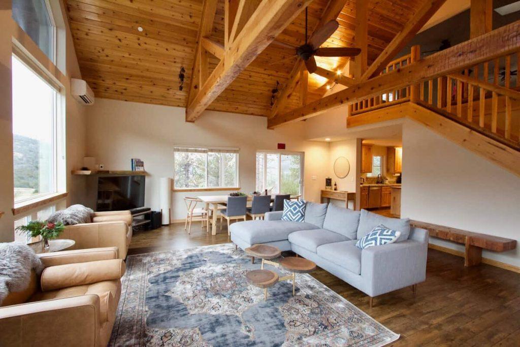 Airbnb Yosemite Cabin Sky House Retreat
