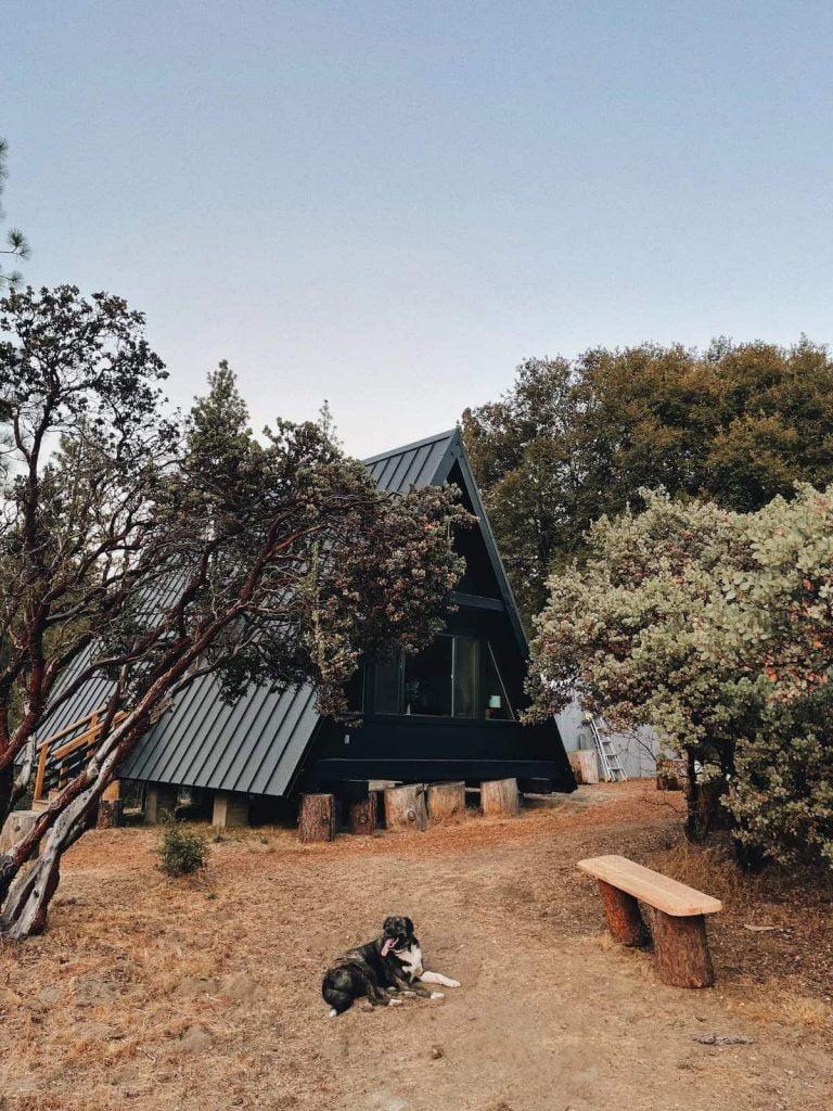 Airbnb Yosemite Cabin Winnie A-frame
