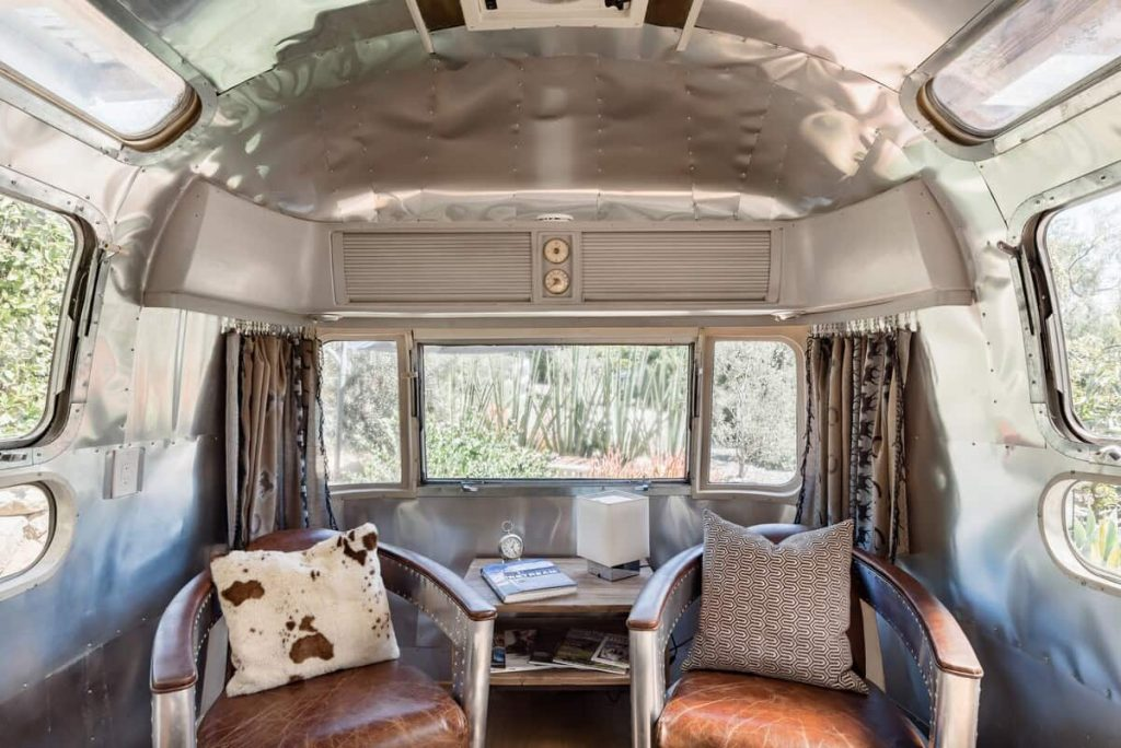 Airbnb in Santa Barbara Iconic 1974 Airstream