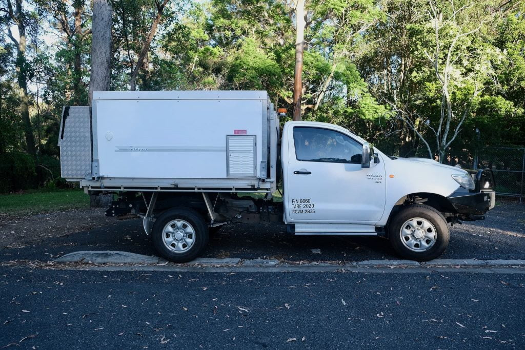 [Sold] Our Toyota Hilux 4x4 + Trayon Camper For Sale 5