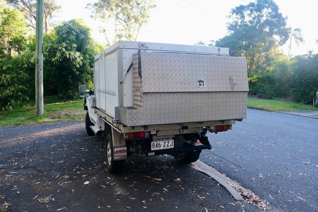 [Sold] Our Toyota Hilux 4x4 + Trayon Camper For Sale 4