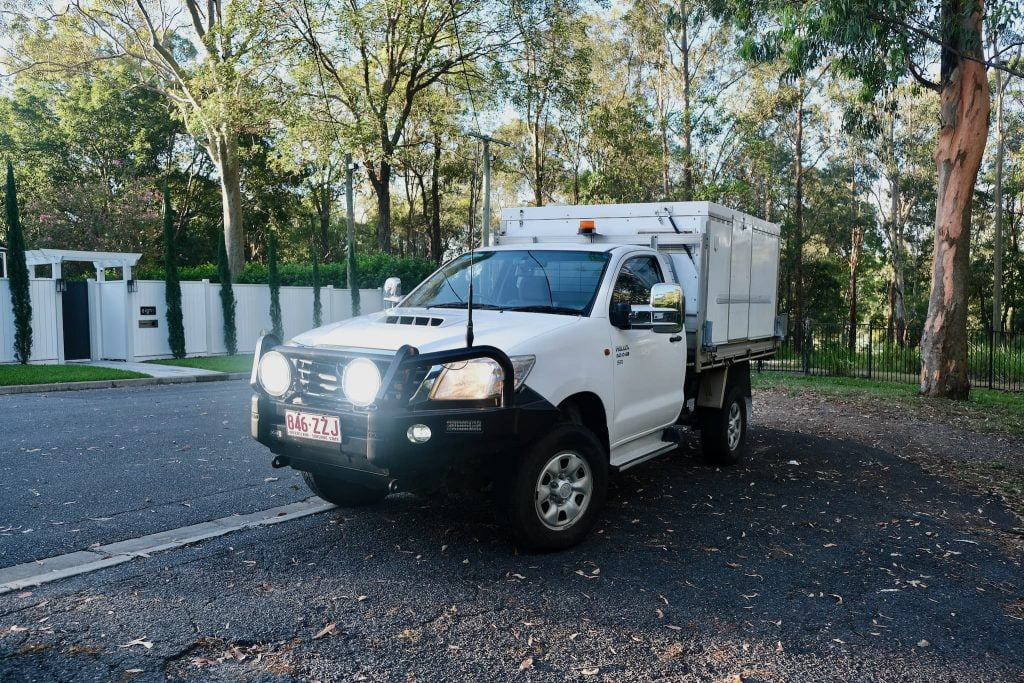 [Sold] Our Toyota Hilux 4x4 + Trayon Camper For Sale 1