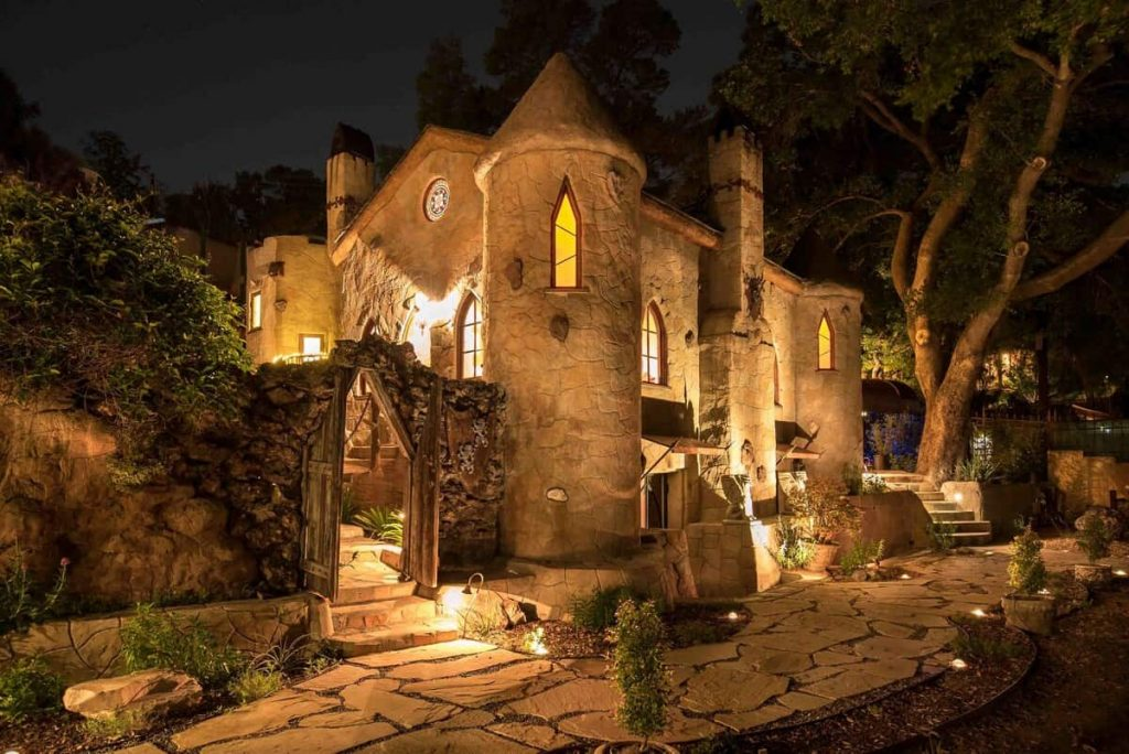 Hollywood Hills Castle Airbnb
