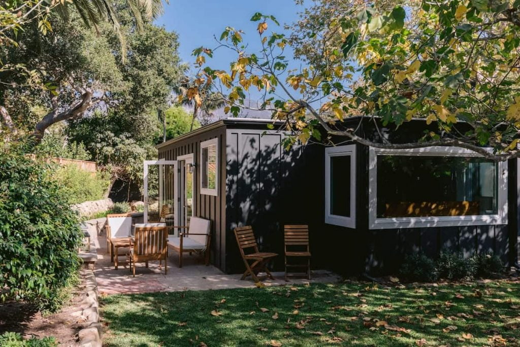 Palm Cottage Airbnb Santa Barbara Montecito