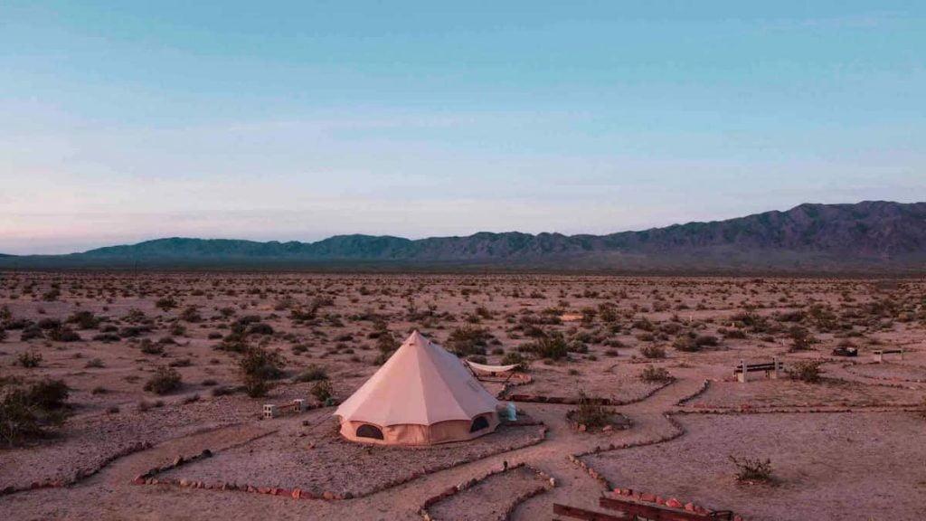 Wonder Valley Yurts Glamping in California