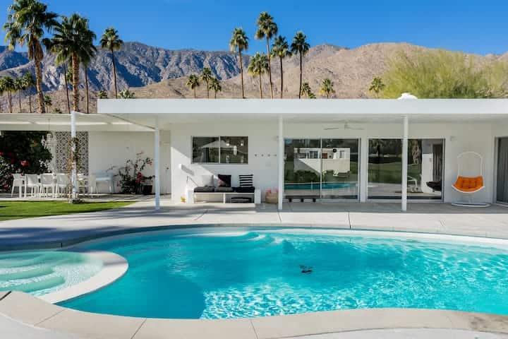 Best Airbnb Palm Springs Rental Besveca House