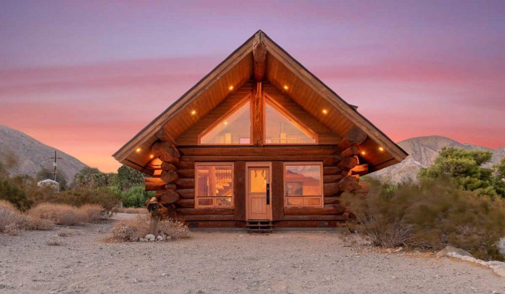 Best Airbnb Palm Springs Rental Wildflower Cabin