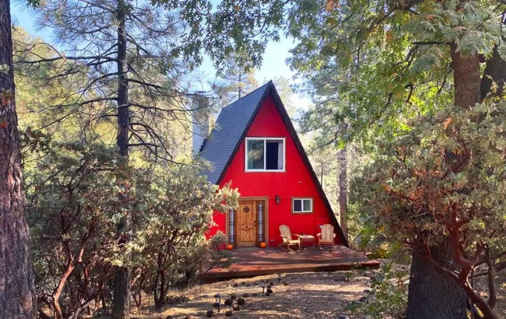 Best Idyllwild Cabin Rentals Dreamy A-Frame Cabin In The Woods